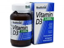 Health Aid Vitamin D3 5000iu 30 κάψουλες